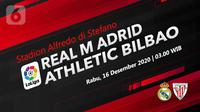 Real Madrid vs Athletic Bilbao, (Liputan6.com/Abdillah)