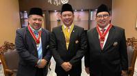 Ketua MPR Bambang Soesatyo (Bamsoet) bersama Fadli Zon dan Fahri Hamzah.