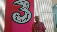 Wakil Direktur Tri Indonesia M Danny Buldansyah dijumpai di kantor Tri Indonesia, Jakarta, Kamis (26/4/2018). Liputan6.com/Agustin Setyo Wardani