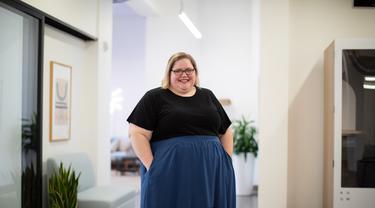 Ilustrasi orang gemuk
