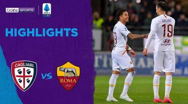 Berita Video Highlights Serie A, AS Roma Kalahkan Cagliari 4-3