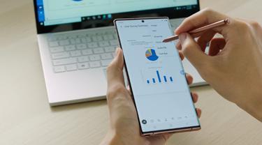 Belajar dan Bekerja Lebih Produktif dengan Dua Fitur Unggulan Galaxy Note 20 Ultra