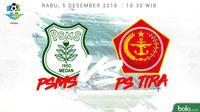 Liga 1 2018 PSMS Medan Vs PS TIRA (Bola.com/Adreanus Titus)