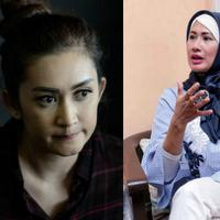 Nia Daniaty, Nafa Urbach dan Yuni Indryati. Tiga perempuan yang akhirnya tak kuasa mempertahanka rumah tangga mereka. (Bintang Pictures)