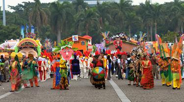 Kemeriahan Jakarta Karnaval Sambut HUT Jakarta ke-488