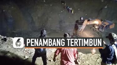 Puluhan penambang emas ilegal di Parigi Moutong Sulawesi Tengah tertimbung longsor Rabu (24/2) malam. Hingga Kamis dini hari evakuasi terus dilakukan, sedikitnya 3 korban meninggal.