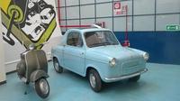 Siapa sangka jika Vespa ternyata pernah memproduksi mobil bernama Piaggio Vespa 400. (Italianways)