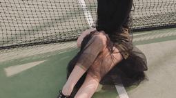 Salah satu fashion item yang kerap digunakan oleh perempuan kelahiran Surabaya ini adalah kacamata hitam. Patricia kerap mengenakan kacamata hitam dalam kondisi yang terik ataupun untuk sekedar bergaya selfie. (Liputan6.com/IG/pattdevdex)