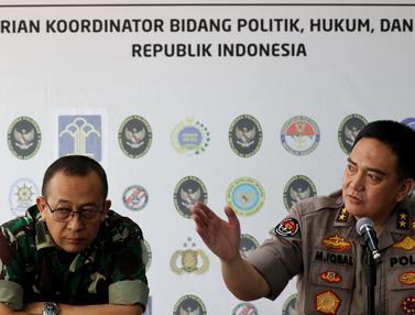 TNI dan Polri Jelaskan Perkembangan Kerusuhan 21-22 Mei