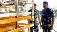 Panglima TNI Tinjau Kesiapan Alutsista Untuk Pemadaman Karhutla (Foto: Merdeka)
