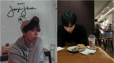 6 Editan Foto Idol K-Pop Lagi Nongkrong di Kafe Ini Bikin Halu