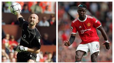 Pemain dari berbagai negara telah menghiasi perjalanan Manchester United sebagai sebuah klub impian. Tak terkecuali para pemain Prancis dengan talenta dan skill mumpuni. Berikut 6 pemain termahal Prancis yang didatangkan Setan Merah, sebagian masih aktif bermain. (Kolase AFP)