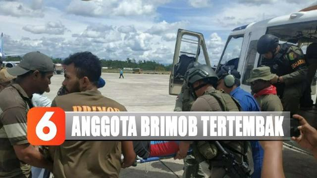 Anggota Brimob yang terluka kemudian dievakuasi menuju Timika dengan mengunakan helikopter milik Polri ke RSUD Mimika untuk mendapat perawatan medis.