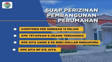 KPK tangkap bupati Bekasi dan bos Lippo Grup terkait suap perizinan pembangunan proyek Meikarta.