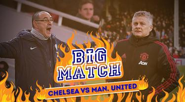 Berita video Big Match yang akan mempertemukan Chelsea Vs Manchester United di babak keempat Piala FA, Selasa (19/2/2019) dinihari WIB