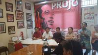Projo mengancam bubar karena Prabowo masuk kabinet.