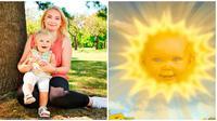 Viral Dikabarkan Sudah Punya anak, Begini Fakta Bayi Matahari di Teletubbies (sumber:Twitter/ @gregjames)