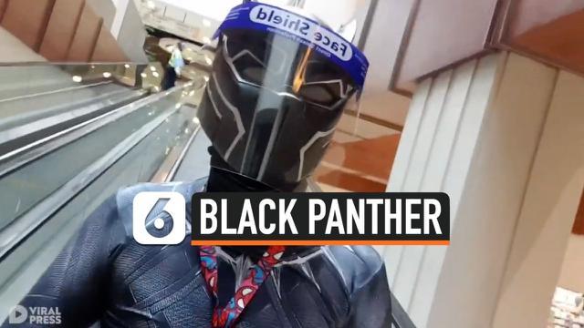 KOSTUM BLACK PANTHER