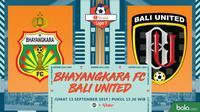 Shopee Liga 1 - Bhayangkara FC Vs Bali United (Bola.com/Adreanus Titus)