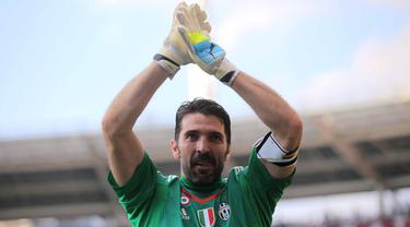 Derby Della Mole, Buffon cetak Rekor dan Juventus pun Berpesta
