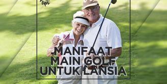 4 Manfaat Main Golf untuk Lansia