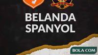 Belanda Vs Spanyol (Bola.com/Adreanus Titus)