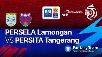 Link Live Streaming BRI Liga 1 : Persela Lamongan vs Persita Tangerang 17 September 2021 Tayang di Vidio