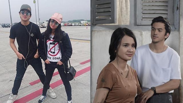 Kerap Dipasangkan Di Film Ini 6 Kebersamaan Rizky Nazar Dan Michelle Ziudith Hot Liputan6 Com