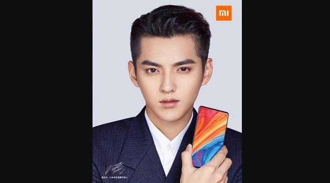 Kris Wu Xiaomi Mi MIX 2S. Dok: Xiaomi