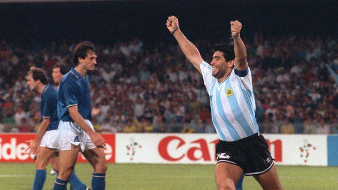 Diego Maradona Meninggal Dunia akibat Serangan Jantung