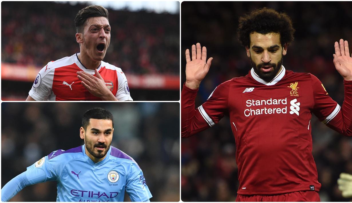 FOTO Mohamed Salah Dan 6 Bintang Premier League Yang