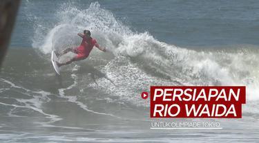 Berita video persiapan yang akan dilakukan atlet surfing Indonesia, Rio Waida, untuk Olimpiade Tokyo 2020 setelah dirinya pulang dari El Salvador