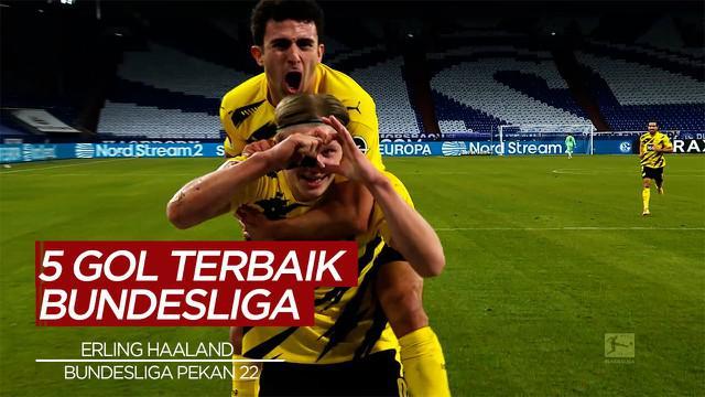 Berita Video Cek Torehan dari Pemain Borussia Dortmund, Erling Haaland dan 4 Gol Terbaik Bundesliga Pekan 22
