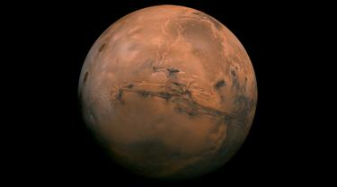 Planet Mars (NASA).