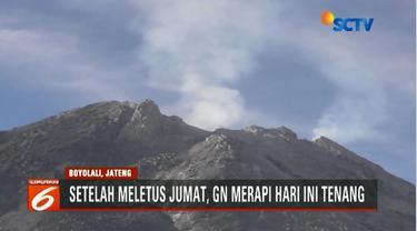 Gunung Merapi sudah mulai tenang, warga sekitar lereng sudah kembali beraktivitas seperti biasa.