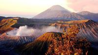 Gunung Bromo terlihat dari Pananjakan. (Pixabay)