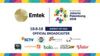 Emtek Group akan menyiarkan Asian Games 2018.