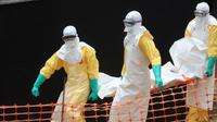 Penyebaran virus Ebola ini telah menewaskan 84 orang di Guinea mencapai tingkat tertinggi, menurut data pemerintah Guinea (AFP PHOTO / SEYLLOU)
