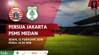 Persija Jakarta Vs PSMS Medan (Bola.com/Adreanus Titus)