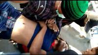 La Randi (21) mahasiswa tewas asal Universitas Halu Oleo (UHO) usai diterjang peluru tajam saat demonstrasi di Kendari, Kamis (26/9/2019).(Liputan6.com/Ahmad Akbar Fua)