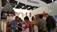 Pameran kebudayaan Indonesia di Swiss. (Source: Dokumentasi KBRI Bern via Kemlu RI)
