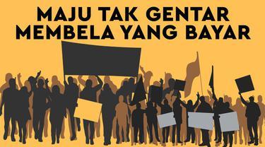 Aksi unjuk rasa biasanya dilakukan oleh mereka yang memperjuangkan aspirasi. Ironisnya, bagi sebagian lainnya, unjuk rasa cuma sekedar bisnis semata.