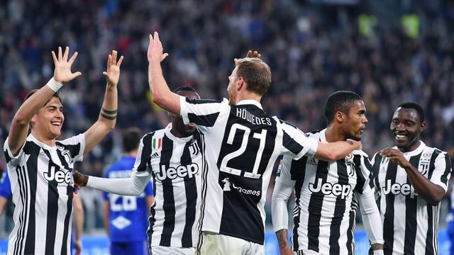 FOTO: Menang Lagi, Juventus Jauhi Napoli di Puncak Klasemen Serie A