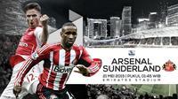 Prediksi Arsenal vs Sunderland (Liputan6.com/Yoshiro)