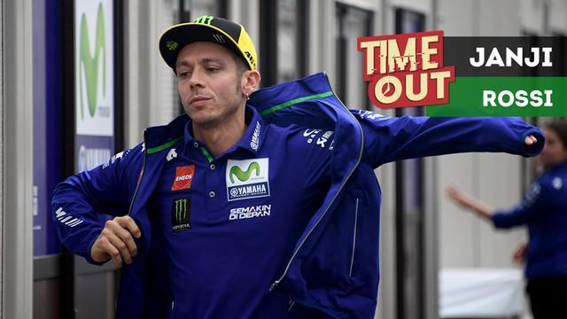 Pebalap Movistar Yamaha, Valentino Rossi, berjanji akan mengeluarkan kemampuan terbaiknya pada MotoGP Jepang di sirkuit Motegi.