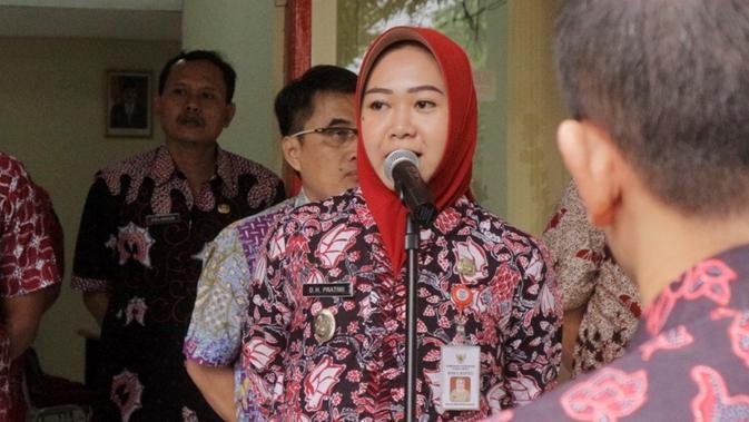 Plt. Bupati Purbalingga, Dyah Hayuning Pratiwi. (Foto: Liputan6.com/Istimewa/Muhamad Ridlo)