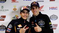 Marc Marquez & Alex Marquez_(AFP Photo/Quique Garcia)