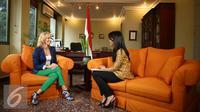 Dubes Hungaria Judit Nemeth-Pach (Liputan6.com/Faizal Fanani)