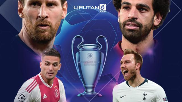 Banner Infografis Berebut Tiket Final Liga Champions