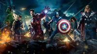 Marvel menggabungkan superherosnya dalam sebuah film blockbuster yang paling ditunggu yakni Avengers: Infinity War. Film ini akan dirilis pada 4 May 2018. (letterbox)